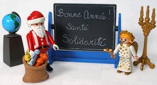 Bonne année! Santé, Solidarité